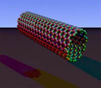 Енергия чрез нанотръби