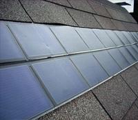 Слънчеви колектори като керемиди на покрив